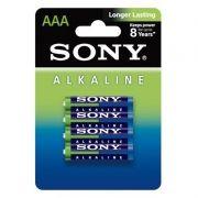 Батарейка AAA SONY LR03-4BL Alkaline, 4шт, блистер