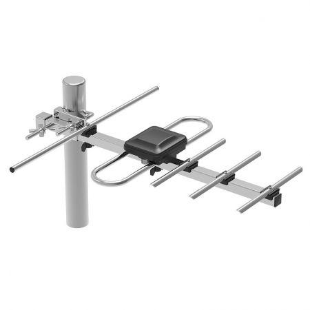 Антенна наружная для ТВ, UHF, DVB-T2, активная, Selenga 111FA (3410)