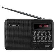 Мини аудио система Perfeo PALM, MP3, FM, акк. 18650, черная (i90-BL) (PF_4870)