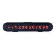 Автовизитка Perfeo Parking Note черная (PF_A4869)