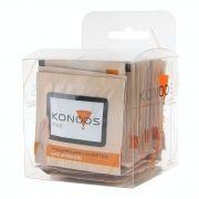Салфетки влажные KONOOS для очистки ЖК экрана, 30шт (KTS-30)