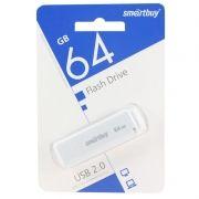 64Gb SmartBuy LM05 White USB2.0 (SB64GBLM-W)