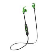 Гарнитура Bluetooth Perfeo WINGS, вставная, черно-зеленая (PF_A4902)