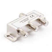 Антенный разветвитель на 3 ТВ, без питания, 5-1000 МГц, блистер, Cablexpert (AS-TV-03)