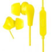 Гарнитура Perfeo ALPHA, вставная, желтая (PF_A4933)