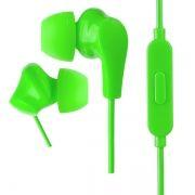 Гарнитура Perfeo ALPHA, вставная, зеленая (PF_A4934)