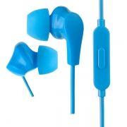 Гарнитура Perfeo ALPHA, вставная, синяя (PF_A4938)