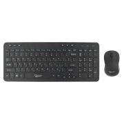 Комплект Gembird KBS-8003 Black, беспроводные клавиатура и мышь