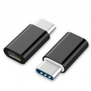 Адаптер USB 3.1 Type C(m) - USB 2.0 micro Bf, Orient UC-201 (30748)