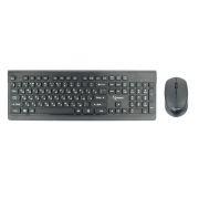 Комплект Gembird KBS-7200 Black, беспроводные клавиатура и мышь