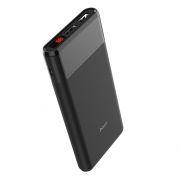 Зарядное устройство Hoco B35C Entourage, 12000 мА/ч, 2.1A 2xUSB, дисплей, черное