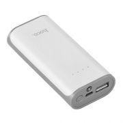 Зарядное устройство Hoco B21 Tiny Concave, 5200 мА/ч, 1A USB, белое