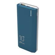 Зарядное устройство RITMIX RPB-10002 Blue, 10000 мА/ч Li-pol, 2.1A USB