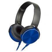 Гарнитура SmartBuy ONE SBH-5015, накладная, черно-синяя