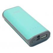 Зарядное устройство Hoco B21 Tiny Concave, 5200 мА/ч, 1A USB, бирюзовое