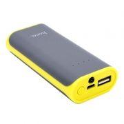 Зарядное устройство Hoco B21 Tiny Concave, 5200 мА/ч, 1A USB, серое