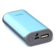 Зарядное устройство Hoco B21 Tiny Concave, 5200 мА/ч, 1A USB, синее