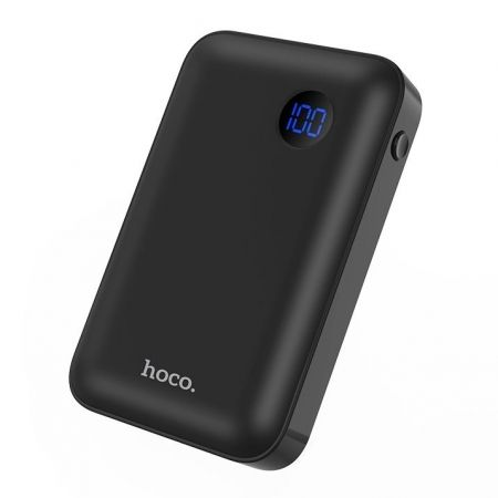 Зарядное устройство Hoco J44, 10000 мА/ч, PD/QC3.0/ FCP/AFC, USB+Type C, черное