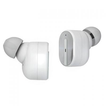Гарнитура Bluetooth AKAI HD-221W TWS, внутриканальная, с кейсом для зарядки, белая