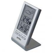 Метеостанция Perfeo PF-S2092 Angle с часами и будильником, серебристая (PF_A4857)