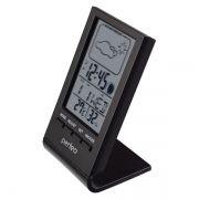 Метеостанция Perfeo PF-S2092 Angle с часами и будильником, черная (PF_A4856)