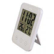 Термогигрометр комнатный Perfeo PF-S681 Touch с часами и будильником, белый (PF_A4860)