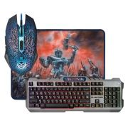 Игровой комплект Defender Killing Storm MKP-013L RU, клавиатура+мышь+коврик, USB (52013)