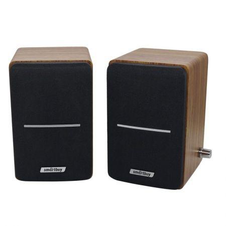 Колонки SmartBuy TOWER, MDF, USB, черные (SBA-105)