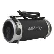 Мини аудио система SmartBuy Stinger 2.1, 15 Вт, MP3, FM, AUX, Bluetooth, черная кожа (SBS-101)