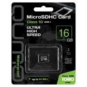 Карта памяти Micro SDHC 16Gb QUMO Class 10 UHS-I без адаптера (QM16GMICSDHC10U1NA)