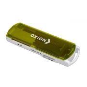 Карт-ридер внешний USB Oxion OCR004GR, зеленый