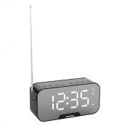Мини аудио система Smartbuy Super Sonic, Bluetooth, MP3, FM, часы/будильник, черная (SBS-490)