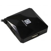 HUB 4-port 5bites HB24-202BK Black USB 2.0