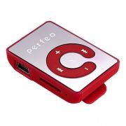 MP3 плеер Perfeo Color Lite, красный (PF_A4192)