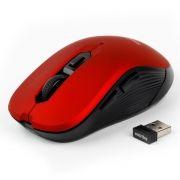 Мышь беспроводная SmartBuy ONE 200AG, 6 кн, смен. разрешение, красная, USB (SBM-200AG-R)