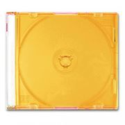 BOX 1 CD Slim Case, оранжевый (коробочка на 1 CD Slim)