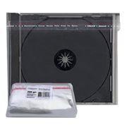 Конверт прозрачный для CD-BOX Jewel 10мм, 200шт