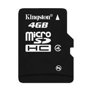 Карта памяти Micro SDHC 4Gb Kingston Class 4 без адаптеров (SDC4/4GBSP)