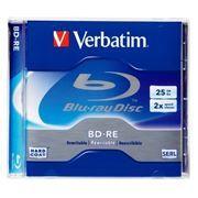 Диск BD-RE Verbatim 25 Gb 2x, Jewel Box (43614/43615)