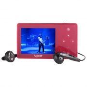 MP3 плеер 4Gb Apacer Audio Steno AU851 красный, без упаковки [уцененный товар]