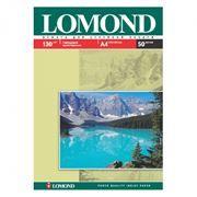Бумага A4 LOMOND глянцевая 130 г/м, 50 листов (0102017)