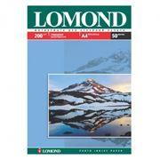 Бумага A4 LOMOND глянцевая 200 г/м, 50 листов (0102020)