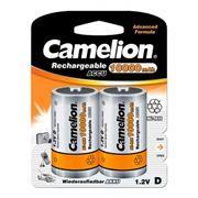 Аккумулятор D CAMELION NH-D10000BP2 10000мА/ч Ni-Mh, 2 шт, блистер 10/2013 [уцененный товар]