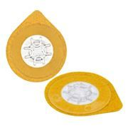 Самоклеющийся держатель компакт-диска A-Media, клипса, прозрачный, 100 шт