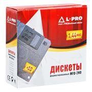 Дискеты 3.5 1.44Mb L-PRO, форматированные, в картонной коробке 10шт