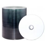 Диск DVD-R CMC 4,7 Gb 16x Full Ink Printable, Bulk 100шт