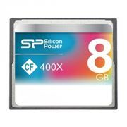Карта памяти CompactFlash 8Gb Silicon Power 400x (SP008GBCFC400V10)