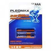Аккумулятор AAA SAMSUNG HR03-2BL 1000мА/ч Ni-Mh, 2шт, блистер