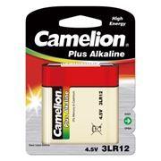 Батарейка 4.5V CAMELION Plus Alkaline 3LR12-BP1, щелочная, блистер