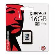 Карта памяти Micro SDHC 16Gb Kingston Class 4 без адаптеров (SDC4/16GBSP)